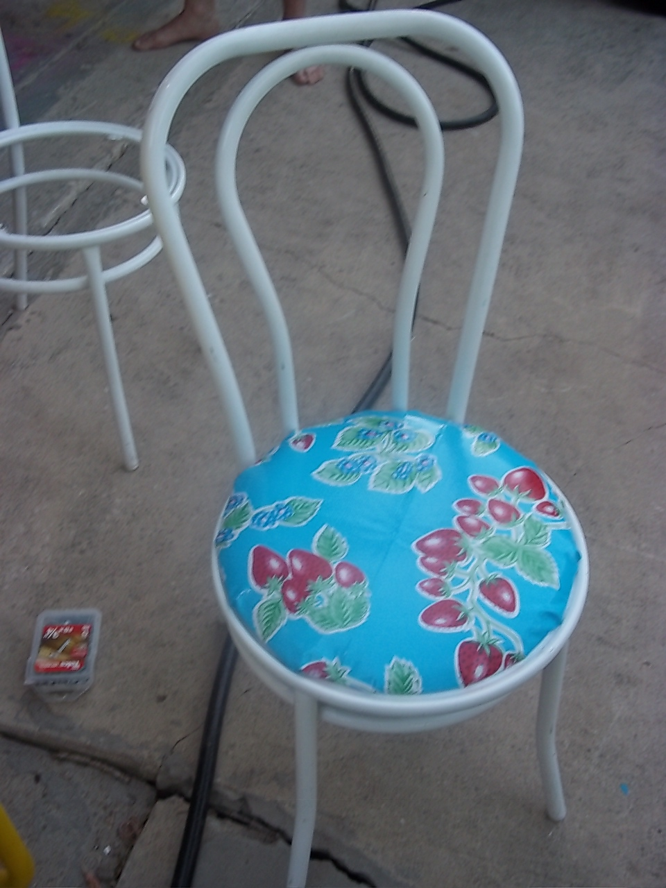 Mexican Oilcloth Turns Indoor Furniture Into Outdoor